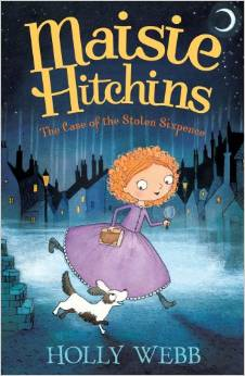 Maisie Hitchins - The Story of the stolen sixpence Book Cover