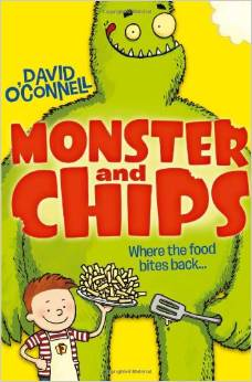Monster and Chips Book Cover