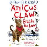 Atticus Claw breaks the law Book Cover