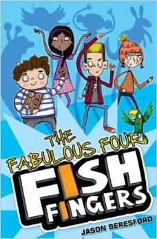 The Fabulous Four Fish Fingers Book Cover