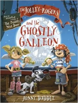 The Jolley-Rogers and the Ghostly Galleon Book Cover
