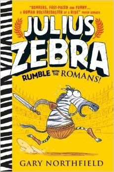 Julius Zebra Rumble with the Romans Book Cover