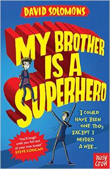 My Brother is a Superhero Book Cover