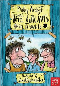 The Grunts in Trouble Book Cover