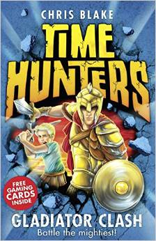 Time Hunters - Gladiator Clash Book Cover