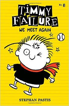 Timmy Failure – We meet again by Stephen Pastis Book Cover