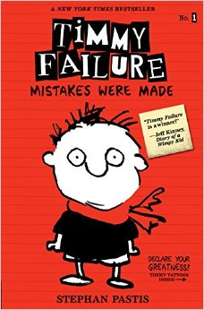 Timmy Failure - Mistakes were made Book Cover