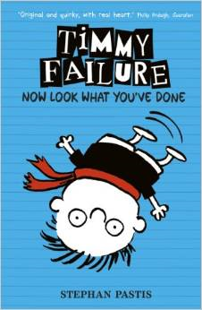 Timmy Failure – Now Look what you've done Book Cover