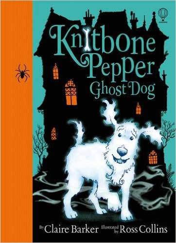 Knitbone Pepper Ghost Dog Book Cover