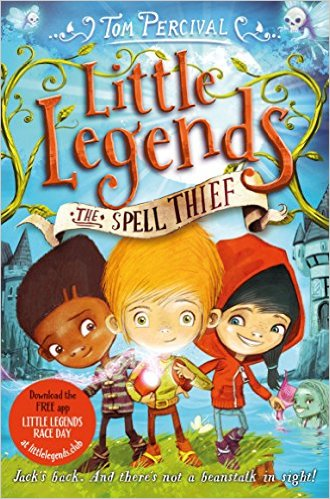 Little Legends: The Spell Thief Book Cover