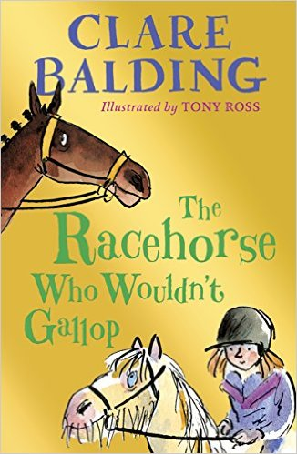 The Racehorse who wouldn't gallop Book Cover