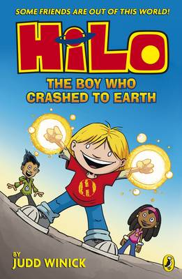 Hilo: The Boy Who Crashed to Earth Book Cover