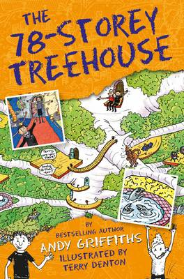The 78-Storey Treehouse Book Cover