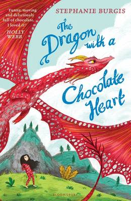 The Dragon with a Chocolate Heart Book Cover