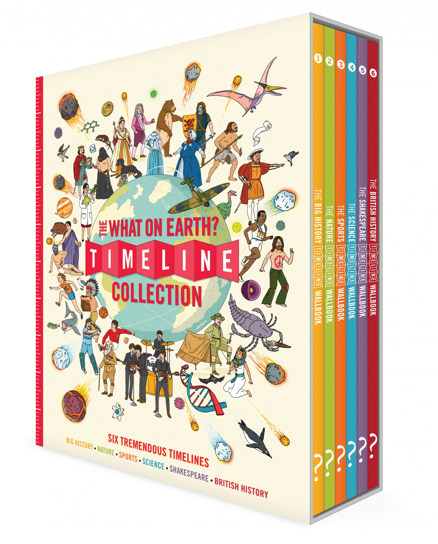 What on Earth? The Timeline Collection Book Cover