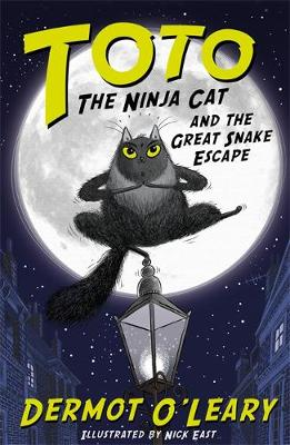 Toto the Ninja Cat and the Great Snake Escape Book Cover