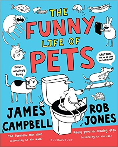 The Funny Life of Pets Book Cover