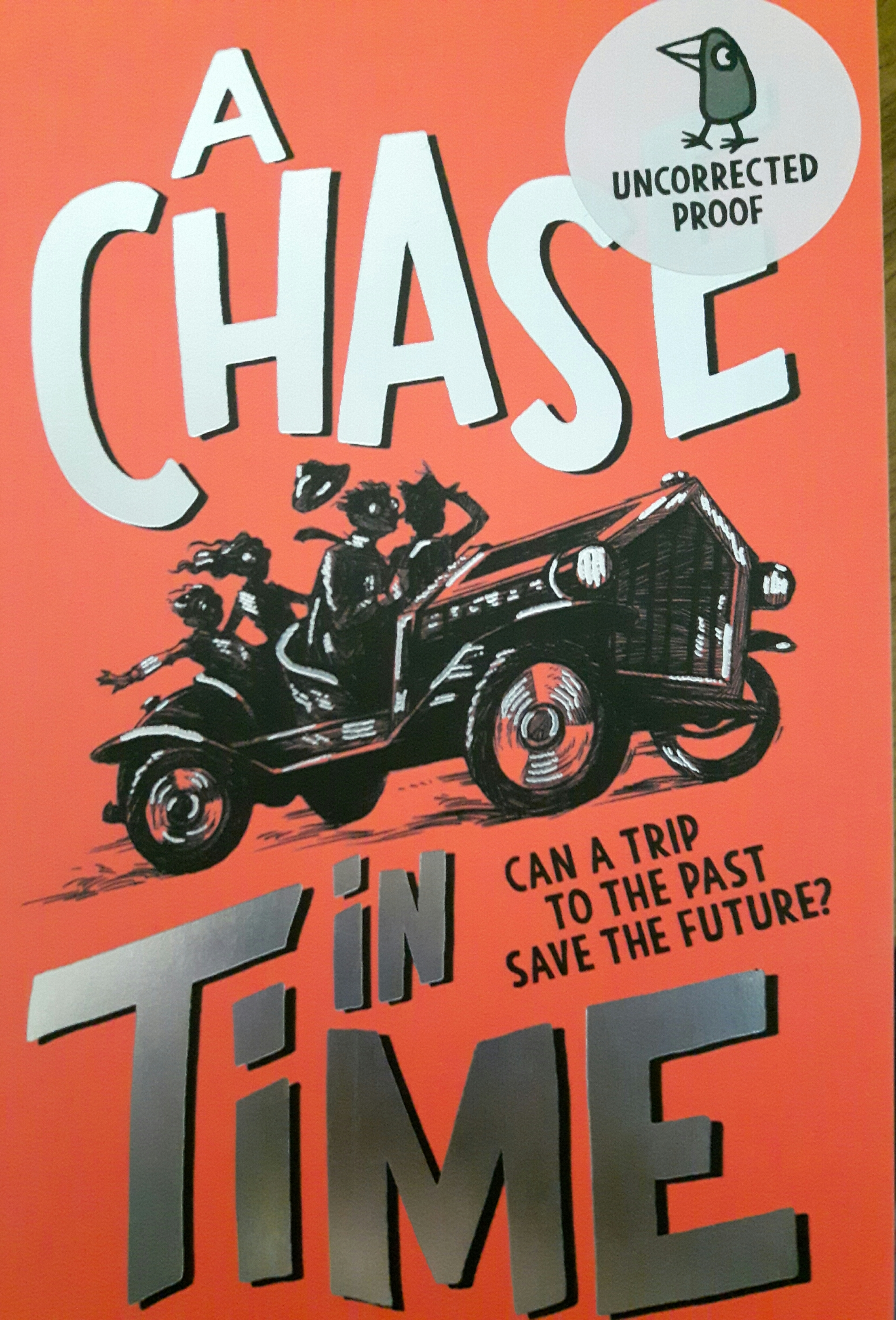 A Chase in Time Book Cover